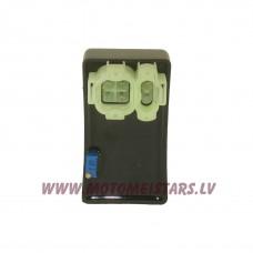 CDI bloks 49 cm3 4-taktu motorolleriem bez apgriezienu ierobežotāja , ar regulāciju, maiņstrāvas tips,