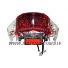 Aizmugures diožu lukturis motorolleriem